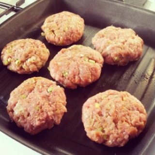 Burger Recipe Turkey Burgers With Sweet Potato Wedges