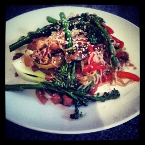 Tenderstem and Tofu Sesame Stir Fry
