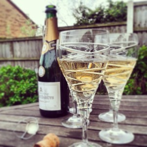 House warming - a celebration isn't complete without champagne