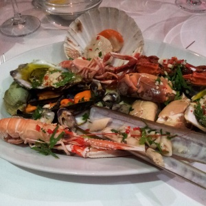 Hot Seafood Platter at Rick Stein's The Seafood