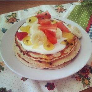 Summer Fruit Pancakes 2