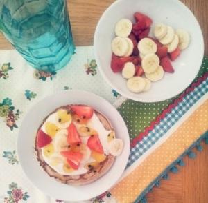 Summer Fruit Pancakes 3