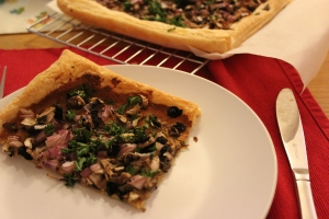Mushroom and Walnut Tart (1)