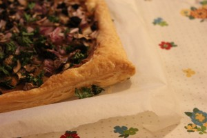 Mushroom and Walnut Tart (2)